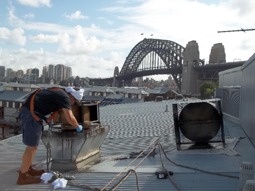 Commercial Kitchen Exhaust Range Hood, Duct & Fan Cleaning - Sydney